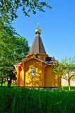 Kapelle von St. Vladimir - Prinz von Novgorod und Baptist von Rus im Kreml in Veliky Novgorod, Russland lizenzfreie stockfotos