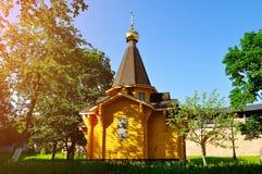 Kapelle von St. Vladimir - Prinz von Novgorod und Baptist von Rus im Kreml in Veliky Novgorod, Russland lizenzfreie stockfotografie