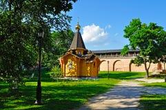 Kapelle von St. Vladimir - Prinz von Novgorod und Baptist von Rus im Kreml in Veliky Novgorod, Russland stockfoto