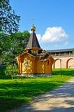 Kapelle von St. Vladimir - Prinz von Novgorod und Baptist von Rus im Kreml in Veliky Novgorod, Russland lizenzfreies stockfoto