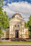 Kapelle von Tikhvin-Ikone unserer Dame in Kronstadt, Russland Stockfoto