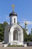 Kapelle von Vladimir Icon der Mutter des Gottes in der Stadt Vologda Lizenzfreies Stockbild