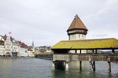Kapellen-Brücke Lizenzfreies Stockfoto