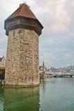 Kapellen-Brücke Stockfotografie