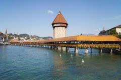 Kapellen-Brücke Lizenzfreie Stockbilder