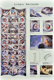 Kapellen-Karte Michelangelos s Sistine Stockfoto