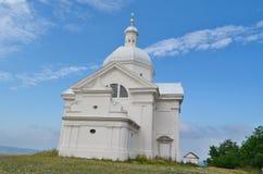 Kapellen-St. Sebastian ist eine wichtige Landschaft, die vom t dominierend ist lizenzfreie stockbilder