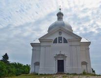 Kapellen-St. Sebastian ist eine wichtige Landschaft, die vom t dominierend ist stockfotografie