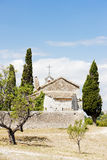 Kapellen-Str. Sixte, Provence Stockfotos