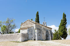 Kapellen-Str. Sixte, Provence Stockbild
