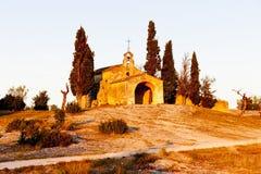 Kapellen-Str. Sixte, Provence Stockfoto