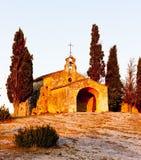 Kapellen-Str. Sixte, Provence Lizenzfreie Stockfotos