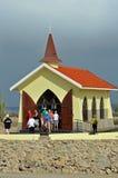 Kapellet av Alto Vista (Aruba) Arkivfoto