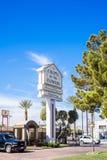 Kapellet av blommorna Las Vegas Nevada Arkivbild