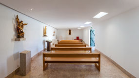 Kapellet av den Monumento aosen Combatentes gör Ultramar Fotografering för Bildbyråer