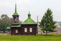 Kapellet av helgon Zosima och Savvatii av Solovetsk royaltyfri bild