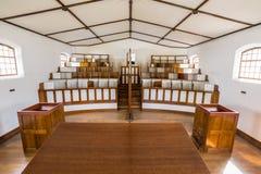 Kapellet i separat fängelsePort Arthur Royaltyfria Foton