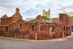 Kapellet och fattighus för restSt Catherine'sen exeter devon england royaltyfri foto