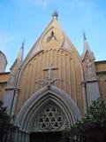 Kapellhelgon Bernandin (annan namnkapellet av de vita botfärdigen) på den Rostan gatan Antibes Arkivfoto