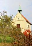 kapellvingård Royaltyfri Fotografi