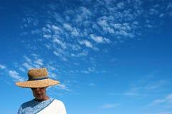 kapelusz na plaży Obraz Stock