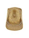 kapelusz odizolowywający na białym tle, kowbojski kapelusz Obraz Royalty Free