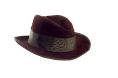 kapelusz odizolowywający Obrazy Stock