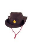 kapelusz odizolowywający Zdjęcia Stock
