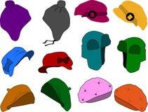 kapelusz opatrunkowa kobieta ilustracja wektor
