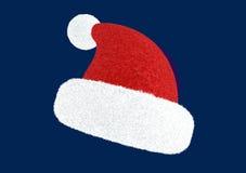 kapelusz s Santa Zdjęcie Royalty Free