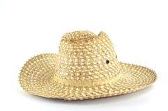 kapelusz wyplatający Obraz Royalty Free