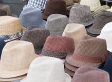 kapelusze Zdjęcie Stock