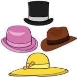 kapelusze Obrazy Royalty Free