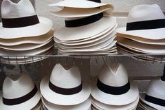 kapelusze biały Zdjęcie Royalty Free