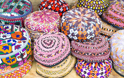 kapelusze kolor Zdjęcie Royalty Free