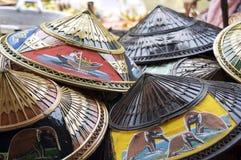 kapelusze tajlandzcy Obraz Royalty Free