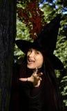 kapeluszowa czarownica Zdjęcie Royalty Free