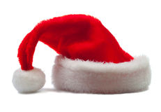 kapeluszowa czerwień s Santa Obrazy Stock