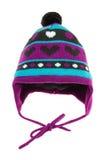kapeluszowa dziecko zima s Obrazy Royalty Free
