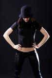 kapeluszowa kobieta zdjęcie royalty free