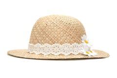 kapeluszowa słoma Obrazy Stock