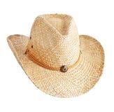 kapeluszowa słoma Obraz Stock