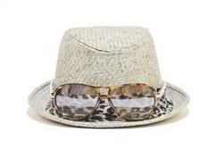 kapeluszowa słoma Zdjęcie Stock
