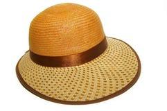 kapeluszowa słoma Obraz Royalty Free