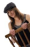 kapeluszowa target1016_0_ kobieta Zdjęcia Royalty Free