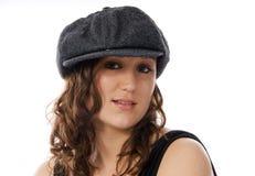 kapeluszowa target82_0_ kobieta obraz stock