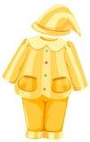 kapeluszowe piżamy ilustracja wektor