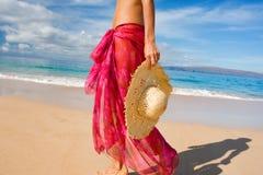 kapeluszowi sarongi Zdjęcie Royalty Free