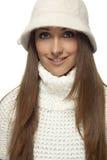 kapeluszowy biel Obraz Stock