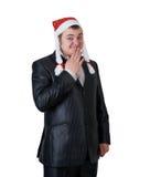 kapeluszowy Claus mężczyzna Santa Zdjęcia Stock